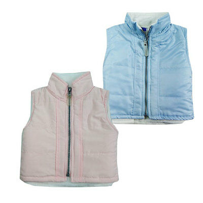 Cute Baby Boys and Girls Padded Vest Jacket
