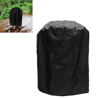 Heavy Duty Vertical Patio Outdoor BBQ Barbecue Dome Smoker Cover for Most Grills