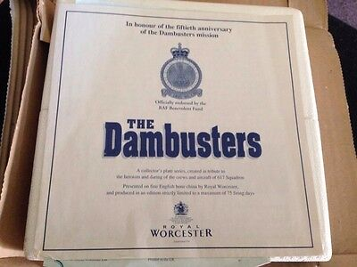 Royal Worcester The Dambusters Plates