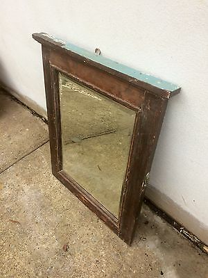 Antique Mirror in solid timber frame