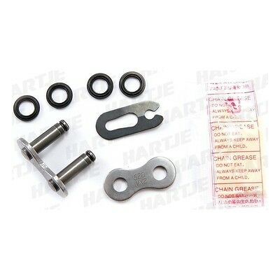 """DID Chain """"520VX2"""" clip link 5/8 x 1/4, pro-street X-ring, reinforced 475710"""