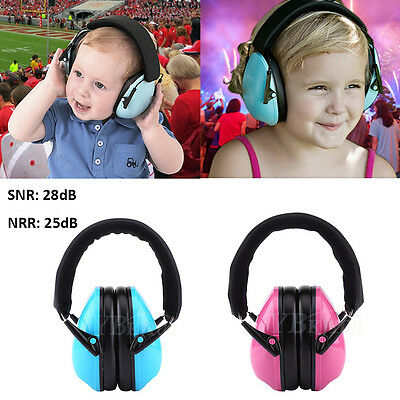 Kids Child Ear Protector Earmuff Noise Cancelling Hearing Protection Sound Proof