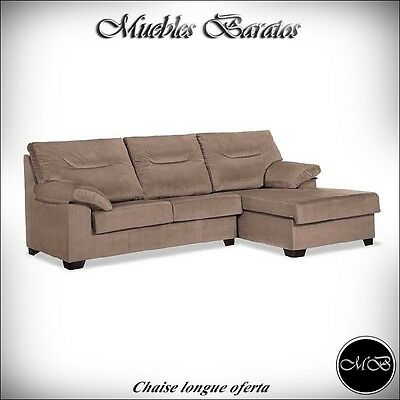 Sofas chaise longue salon sofa cheslong comedor + mueble extra ref-20