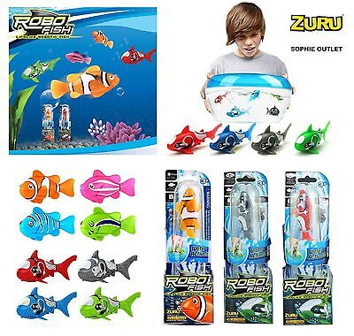 Zuru ROBO FISH Water Activated Robotic Animal Girls Boys Toy Gift Bag Filler UK