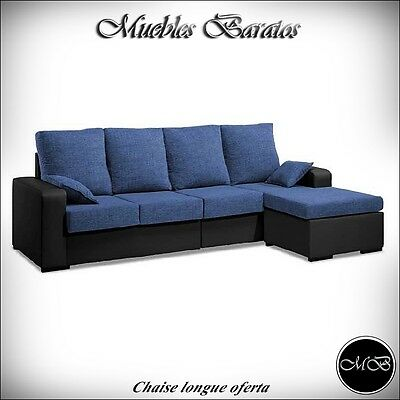 Sofas chaise longue salon sofa cheslong comedor + mueble extra ref-21
