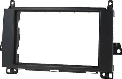 Radio faceplate 2DIN MERCEDES SPRINTER VIANO VITO VW CRAFTER Frame Double Din