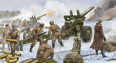Soviet 152 Mm Howitzer Gun M 1937 Ml-20 1:35 Plastic Model Kit TRUMPETER