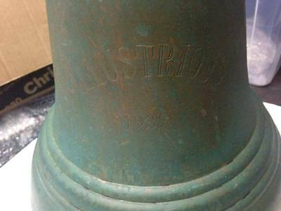 HMS Illustrious 87 Ships Bell one of a kind rare!