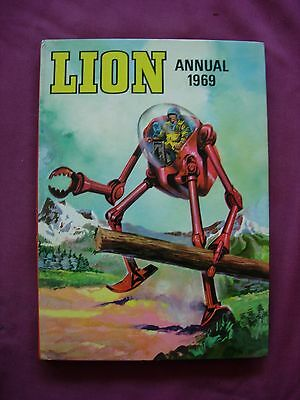 Lion Annual 1969 UK Annual Fleetway unclipped VFN