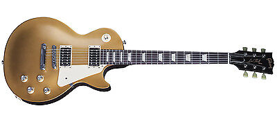 Guitarra eléctrica Gibson Les Paul '50s Tribute 2016 T Satin Gold Top Dark Back