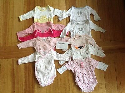 Size 000 Girls long sleeve body suits