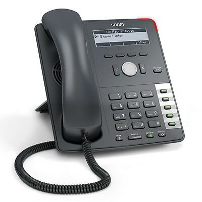 Snom SNO-D710 Business Desk 4 Line VOIP phone. Practically new! Sale pricing