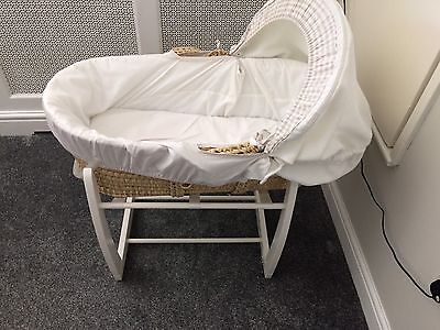 Mosses Basket Mamas And Papas With Rocking Stand