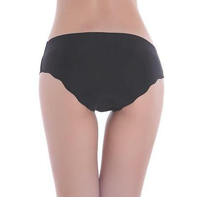 Women Invisible Seamless Soft Thong Lingerie Briefs Hipster Underwear Panties 5