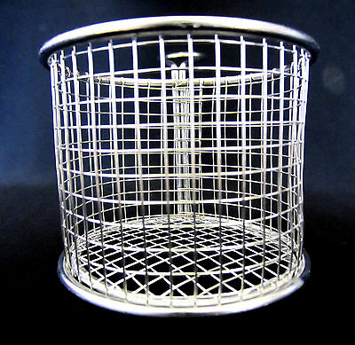2 x Apollo Mini Chip Serving Stainless Steel Basket for Fries