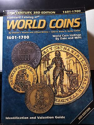 Standard Catalog Of World Coins 1601-1700, 3rd Edition By Krause