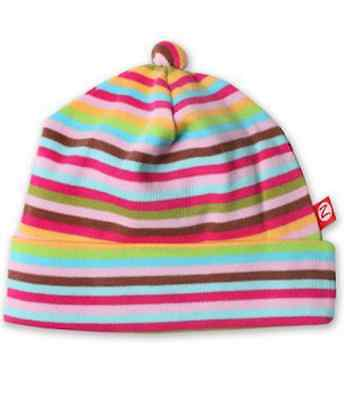 ZUTANO 100% Cotton Super Stripe Hat Beanie Infant Sizes 3 Months 18 Months 7c4e55958205
