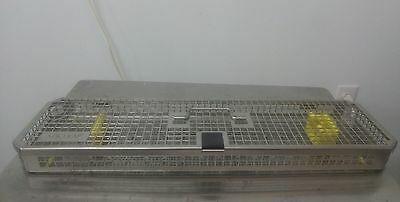 Aesculap JF435R Stainless Steel Sterilizer Tray Case