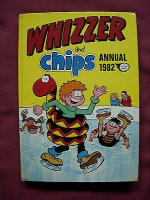 Whizzer and Chips Annual 1982 Unclipped Fleetway FN/VFN