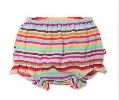 ZUTANO 100% Cotton Super Stripe Infant Diaper Cover Bloomers 12 Months 24 Months