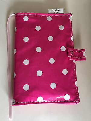 A5 Diary Cover,Journal Cover,Nurses Diary Cover,Week To View,bright Pink Spotty