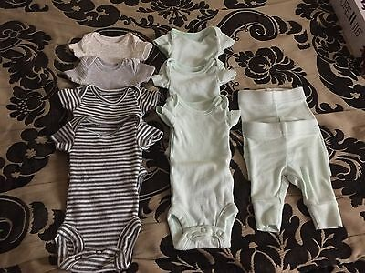 Gender Neutral Preemie Baby Clothes Mint Condition Lot