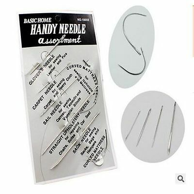 Sewing Needles Leather Tarpaulin Canvas Patching Tools Repair Sewing