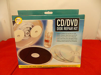 ideas in motion CD/DVD Disc Repair Kit by Ideas In Motion NEW  Free Shipping