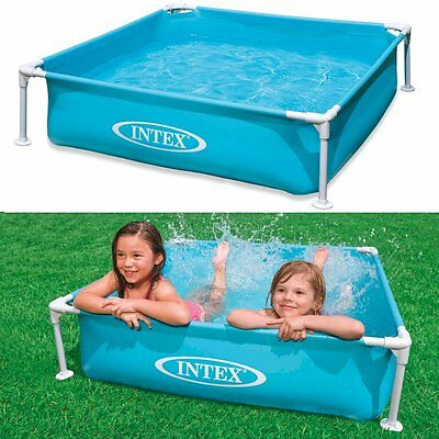 Intex 57173 Pool Pools Above Ground For Children 122X122X30Cm Even For Dogs