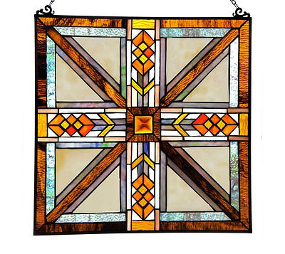 Stained Glass Panel For Windows Sun catcher Patterns Home Decor Southwestern Art
