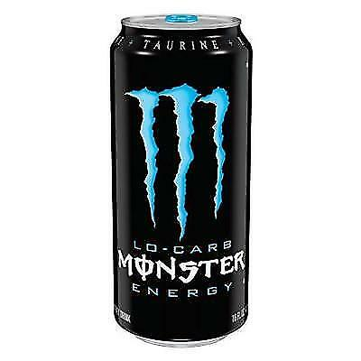 Monster Energy, Lo-Carb, 16 Ounce (Pack of 24) New