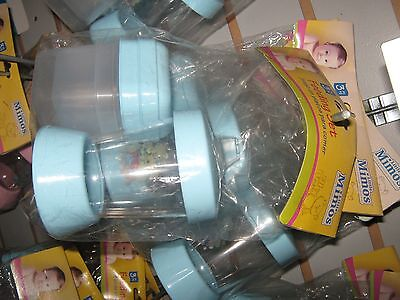 Bunch of baby boys supplies- Bottles, cup, spoons, bowls, baby food storage