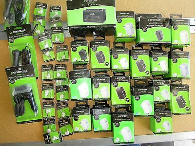 WHOLESALE LOT of Enercell AC Adapters Chargers and Tips  LOT 40 pcs.  NEW  E2