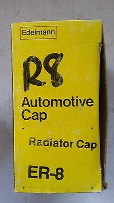 ER-8 Edelmann 4 Lb.Radiator Cap Chevy Dodge Ford Jaguar (see photo for listings)