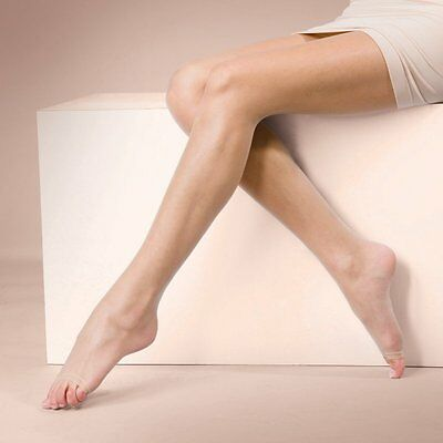 Silky Natural Cool /& Fresh Crotchless Tights 3 Pair Pack Open Gusset Multipack