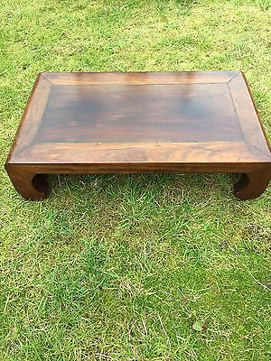 Chinese Antique Huanghuali Kang Table / Footrest Qing Dynasty
