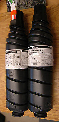 Toshiba E-Studio 350/352/353/450/452/453 Two New Genuine OEM Toner