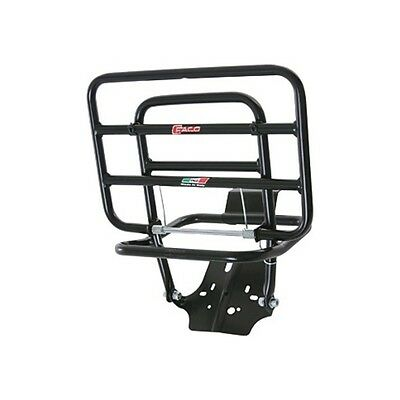 FACO Rack black rear, foldable 498365