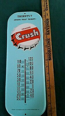 Orange Crush Thermometer In Excellent Condition