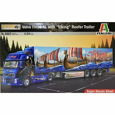 "Italeri Volvo FH16 XL with ""Viking"" Reefer Trailer"