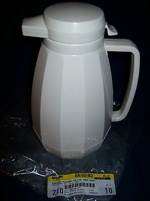 White Thermal Coffee Server Carafe