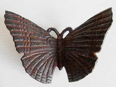 Vintage Cast Iron Butterfly Paperweight