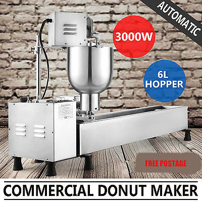 Commercial Automatic Donut Fryer Making Machine Donut Maker Free Shipping