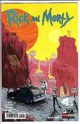 Rick And Morty #24 Exclusive Fried Con Variant Omni Press Adult Swim In-Hand