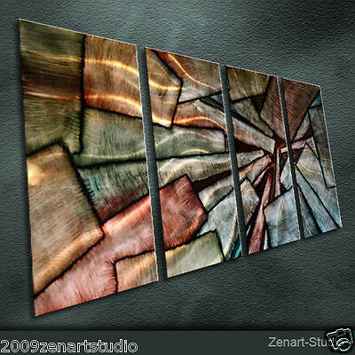 Modern Abstract Metal Wall Art Original Large Indoor Outdoor Decor by Zenart