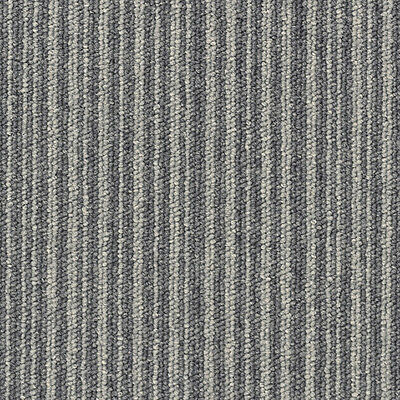CLEARANCE - CARPET TILE, Grey Stripe, $14.00  per sq m (PVC FREE)
