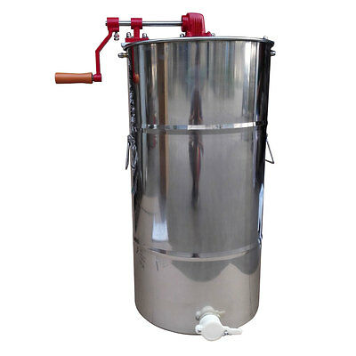 New Large Two Frame Stainless Steel Honey Extractor Beekeeping Equipment