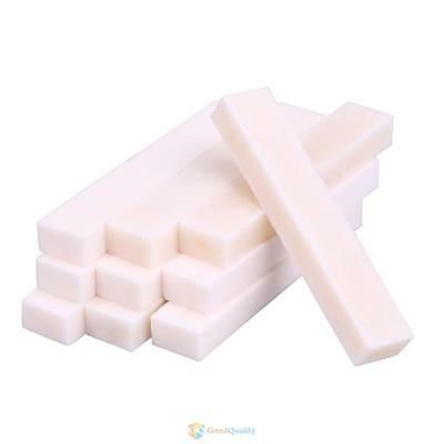 10Pcs Best Guitar Bass Real Blank Saddle Bone Nut for LP Folk Classical Guitar