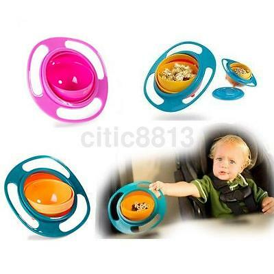 Spill Resistant Baby Feeding Bowl For Dry Food with Lid Baby Fun Eating Bowl hwc