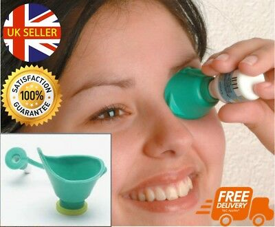 Quick & Easy To Use Eye Drop Dispenser Bottle Dropper Portable Applicator
